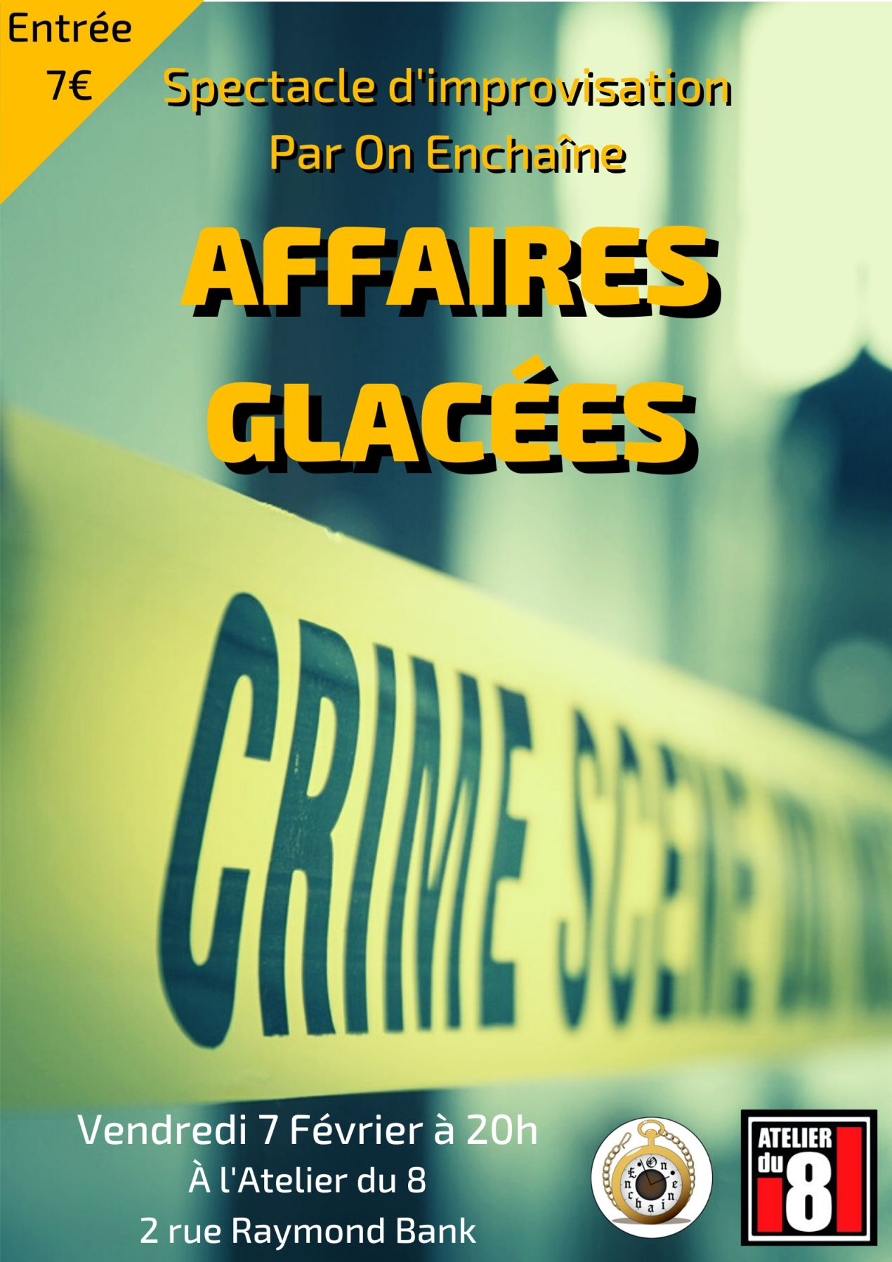 """Affaires Glacées"" par la troupe On Enchaine"